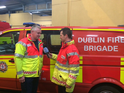 A Night with Dublin Fire Brigade