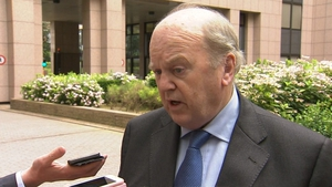 Minister Michael Noonan said there is no contagion effect on Irish banks any more