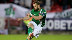 Cork City will be without the suspended Greg Bolger