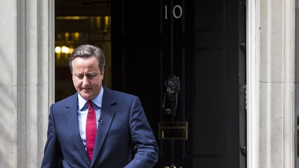 David Cameron confirmed his departure from office yesterday