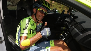 Alberto Contador withdrew from the Tour during Sunday's ninth stage