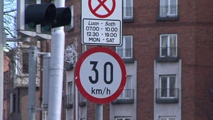 Consultation on Dublin city 30km/h speed limit begins
