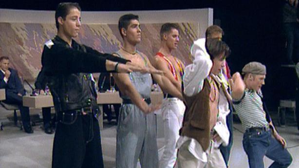 Boyzone Late Late Show