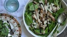 Lamb Tagliata with spinach
