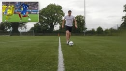 Dara's Football Skills: Payet Turn from Euro 2016