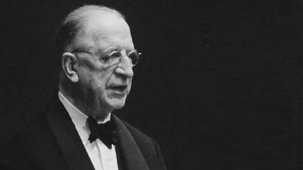Former Taoiseach and president Éamon de Valera: his experience with the League of Nations meant he was sceptical about joining the United Nations