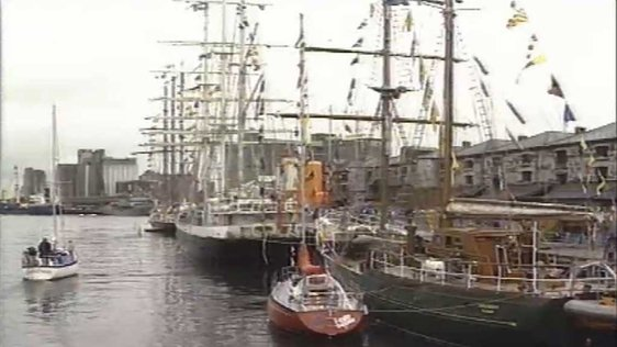 Tall Ships Race In Cork 1991