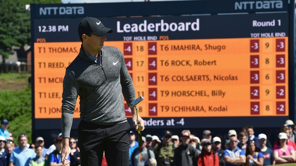 Rory McIlroy last topped the world rankings on 19 September 2015