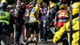 Froome holds onto yellow folllowing bizarre day