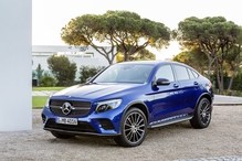 The coupe version of Mercedes' mid-sized SUV goes on sale in September.