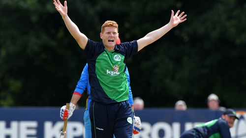 Kevin O'Brien has been named in the Ireland squad to face India.