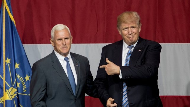Pence lands in New Jersey amid VP chatter