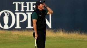 Phil Mickelson: 'I don't understand what just happened. It moved....I don't understand'