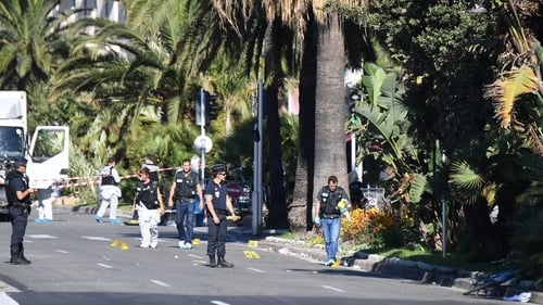 84 people were killed and scores injured in the attack