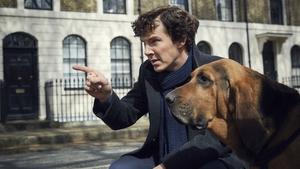 Benedict Cumberbatch as super-sleuth Sherlock Holmes