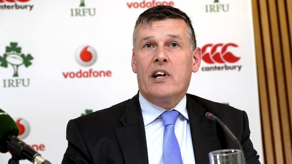 Irish Rugby Football Union chief executive Philip Browne