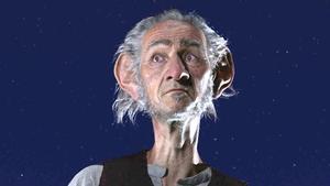 Mark Rylance in Spielberg's movie The BFG, based on Roald Dahl's celebrated tale for children
