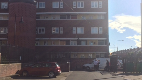 The stabbing attack took place at Seagull House on Rutland Avenue in Crumlin