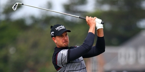 Henrik Stenson is not expecting to play too much golf in September
