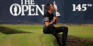 Henrik Stenson is hoping to reclaim the famous Claret Jug this week