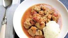Mummy Cooks Lamb Curry