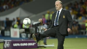 Vicente del Bosque led Spain to a World Cup and a European Championship
