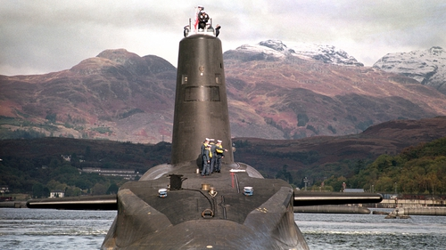 The motion includes backing the plan to replace the existing submarine fleet carrying the missiles