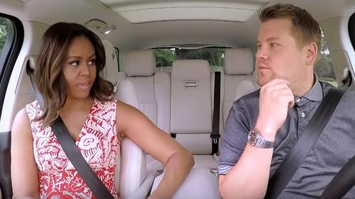 Michelle Obama Gets Her Freak On during Carpool Karaoke