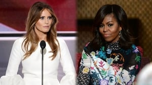 Melania Trump and Michelle Obama. Spot the difference