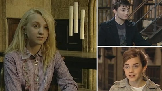 Evanna Lynch is Luna Lovegood