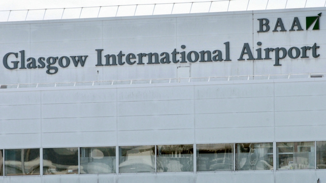 Staff are understood to have raised concerns over the pilots' behaviour at Glasgow airport