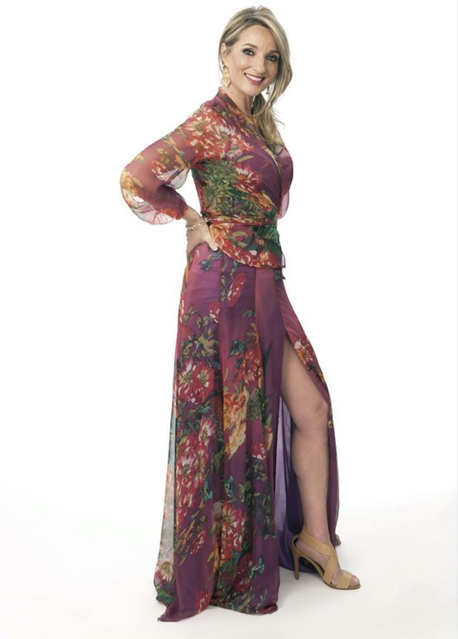 Aisling O'Neill shows off her fabulous figure