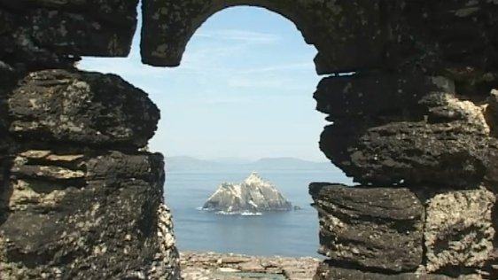 Disney Land on Skellig Michael?