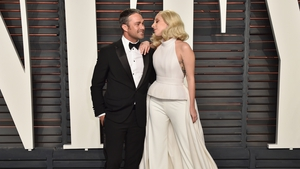Lady Gaga and Taylor Kinney. They've only broken up-ish