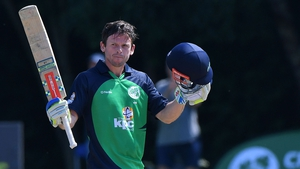 There was no stopping Ed Joyce as he cracked 19 fours and three sixes