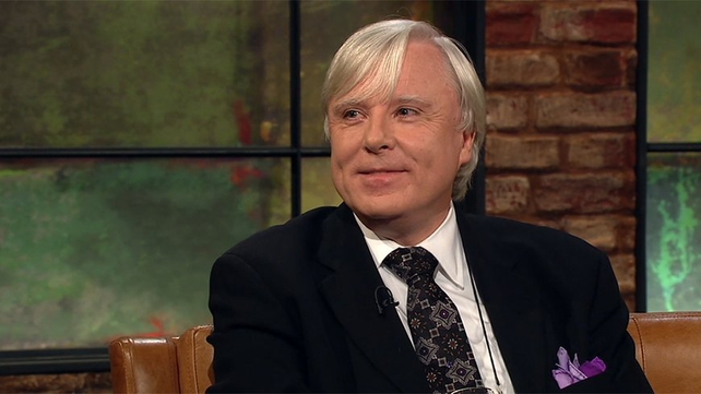 Francis appearing on The Late Late Show