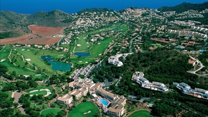 La Manga Club is in the south east of Spain