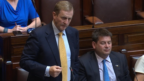 Enda Kenny said there was a need for the 'widest possible conversation' on the implications of Brexit