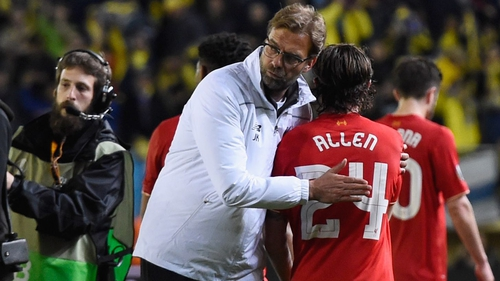 Jurgen Klopp could be about to say goodbye to Joe Allen