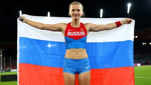 Anzhelika Sidorova has been cleared to compete as a neutral athlete
