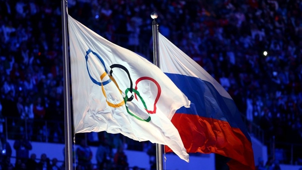Russian track and field athletes were banned from the Rio Olympics