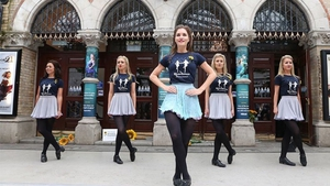 The Riverdance troupe. Hotfooting for 24 hours in Dublin