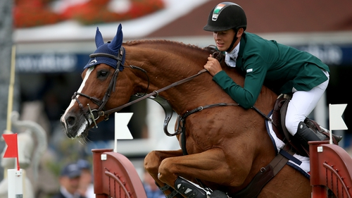 Bertram Allen will be hoping to compete at the RDS
