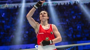 Kellie Harrington is hoping for glory in Minsk