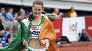 Ciara Mageean came second in the Morton mile