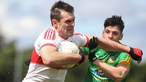 Mark Lynch is in fine form for Derry