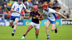 Lee Chin in action for Wexford hurlers in July's All-Ireland quarter-final