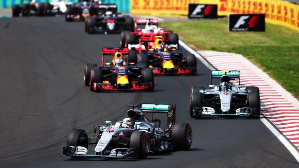 Lewis Hamilton led from start to finish