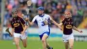 Waterford's Austin Gleeson under pressure from Eanna Martin and Diarmuid O'Keeffe