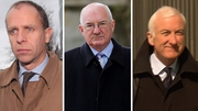 John Bowe (l), Willie McAteer and Denis Casey (r) were found guilty after an 89-day trial